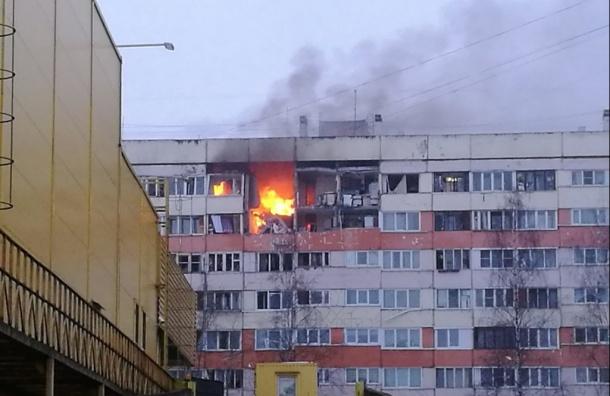 Более 500 человек ликвидировали последствия взрыва вКрасносельском районе