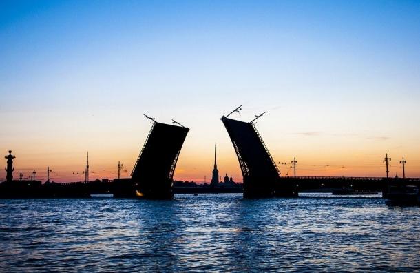 Два моста вПетербурге разведут ночью