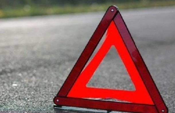 Два человека пострадали вДТП смаршруткой наюге Петербурга