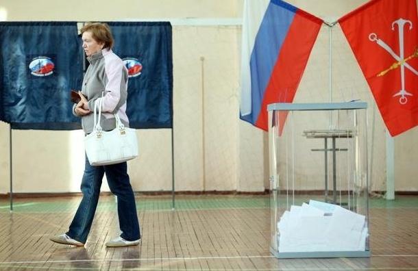 Все избирательные участки начали работу вПетербурге