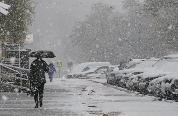 Петербургу снова обещают снег