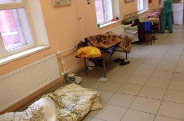 Пациентов Покровской больницы прятали впроцедурных