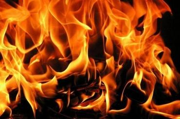 ВЛенинградском аэропорту тушили пожар