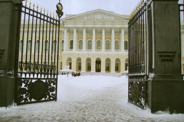 Внутренние дворы Михайловского дворца реконструируют