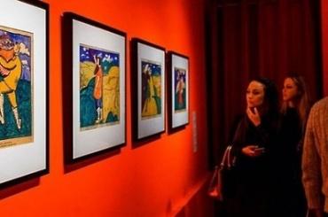 Русский музей получил вдар 160 рисунков Казимира Малевича