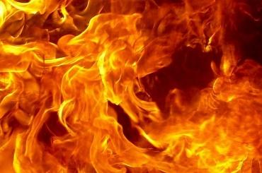 Автосервис горел вКурортном районе