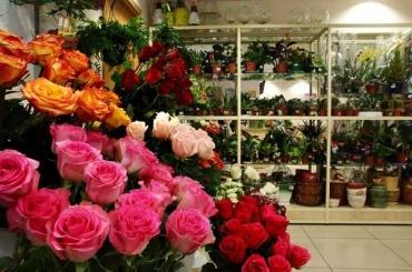 Цветочный магазин ограбили вканун 8Марта
