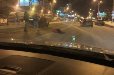 Пешехода сбили наКомендантском проспекте