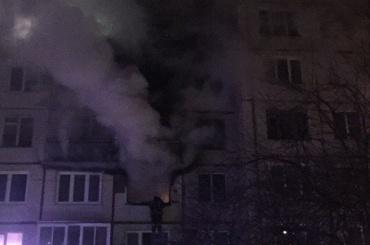 Собака погибла впожаре наМаршала Тухачевского