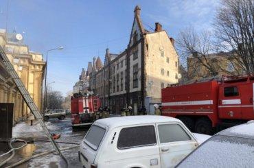 Отдел полиции горел вВыборге