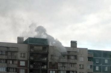 Мужчина погиб впожаре наСтародеревенской