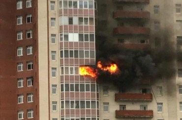 Пожар произошел вдоме наНовоколомяжском