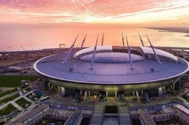 Следователи проверили крышу стадиона «Санкт-Петербург»