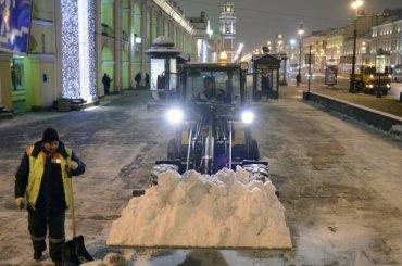 Дорожники Петербурга готовятся ксильному снегопаду