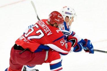 СКА вышел вперед всерии с«Локомотивом»