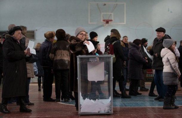 Явка навыборах президента вРоссии поднялась до57,74%