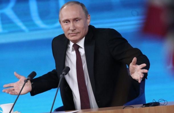 Путин: российских военнослужащих наУкраине нет