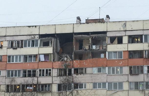 Взрыв произошел вдоме напроспекте Народного Ополчения