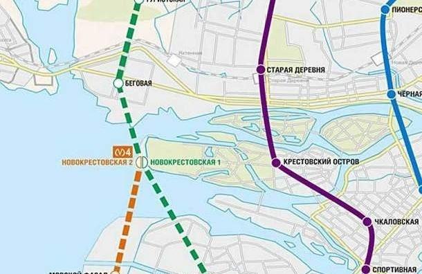 Испытания «Новокрестовской» начнут ссередины апреля