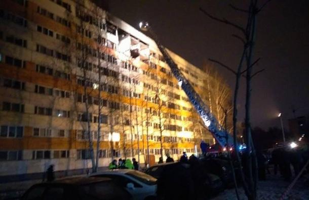 Пострадавший отвзрыва дом вПетербурге отключили отгаза исвета