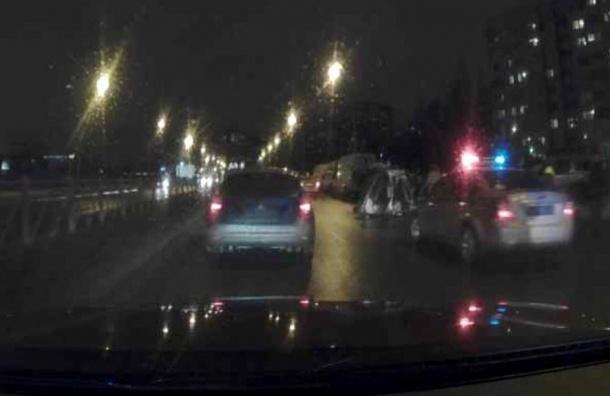 Серьезная авария с«перевертышем» произошла наОрджоникидзе
