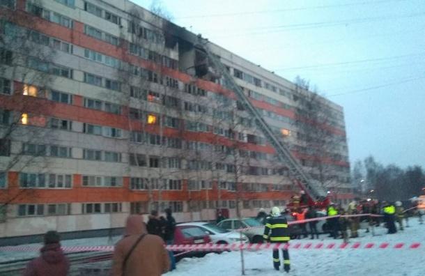 Началась эвакуация жильцов взорвавшегося дома наНародного Ополчения