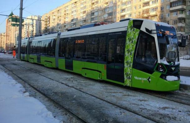 Остановки для первого частного трамвая «Чижик» вПетербурге появятся вмае