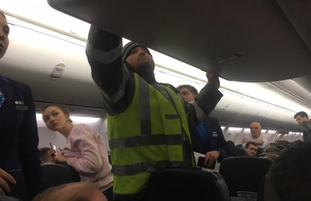 Самолет рейса Ростов-на-Дону— Петербург экстренно сел вМоскве