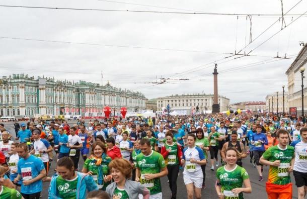Марафон «Белые ночи» соберет более 13 тысяч бегунов