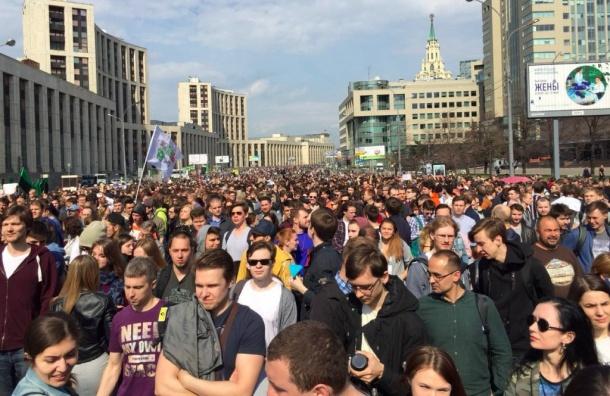 Митинг засвободный Интернет собрал 12 тысяч человек