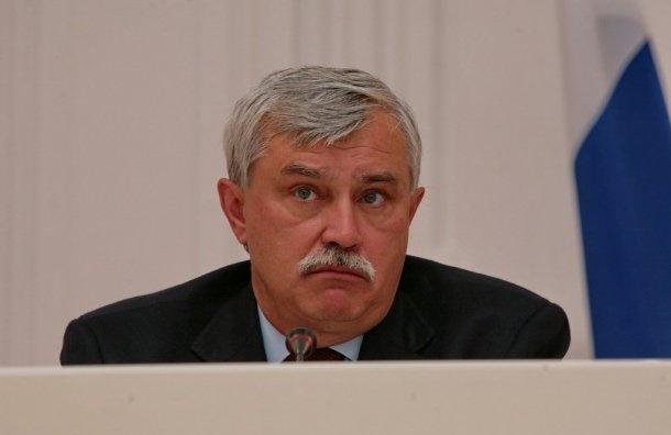 Полтавченко отчитается перед ЗакСом 25апреля