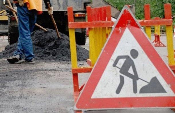 Два участка КАД вПетербурге сузят ради ремонта