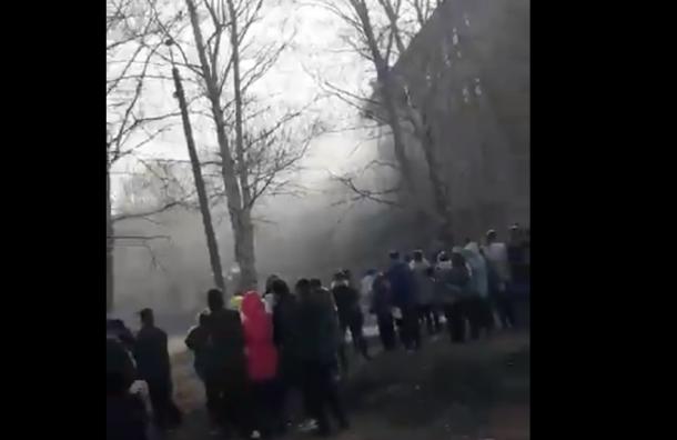 Подросток устроил поножовщину иподжег школу вБашкирии