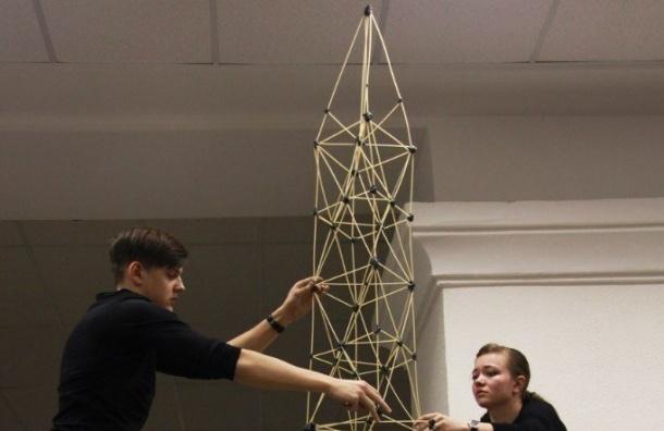 Конкурс «Макаронный строитель» стартовал вПетербурге