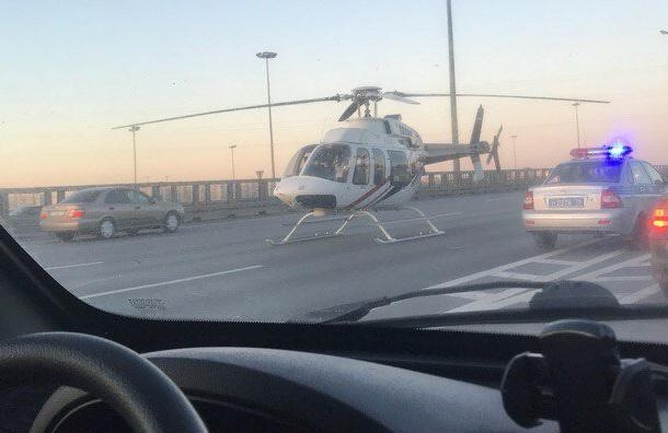 НаКАД в северной столице под колеса попал шофёр машины