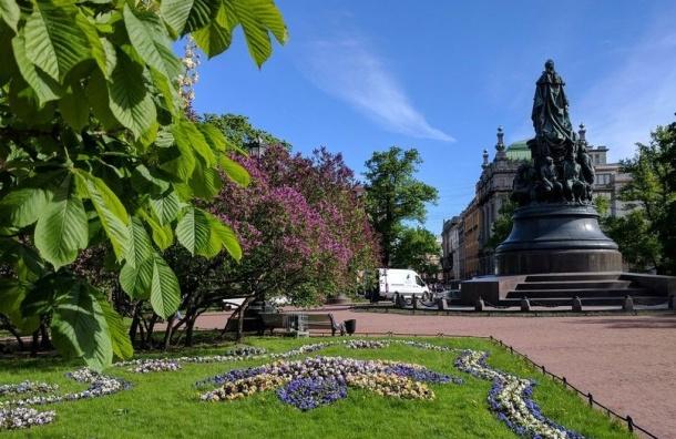 Сады Петербурга закрыли для жителей города