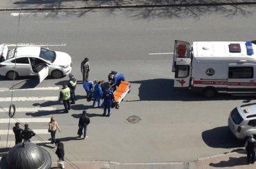 Двух пешеходов сбили наМосковском проспекте