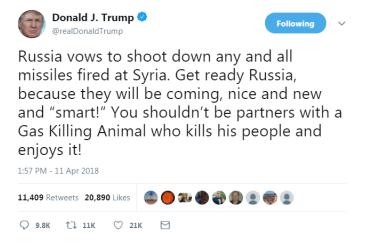 Трамп пригрозил России