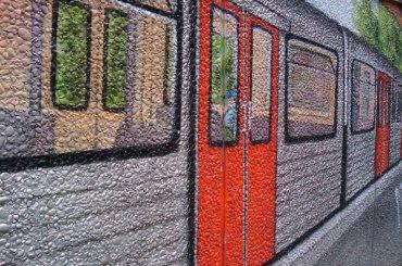 Граффити вдоль железной дороги закрасят перед ЧМ-2018