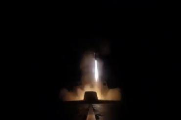 Франция опубликовала видео ракетного удара поСирии