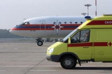 Больных детей самолетом доставили вПетербург