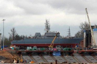 Противоминный корабль нового поколения спустят наводу вПетербурге