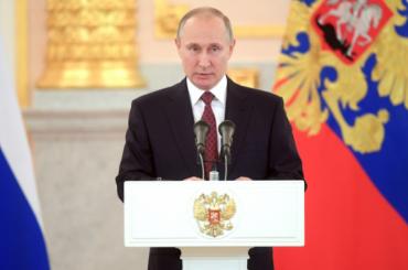 Путин рассказал, сколько заработал денег в2017 году