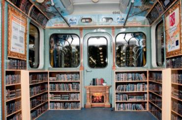 Поезд-библиотеку запустят впетербургском метро