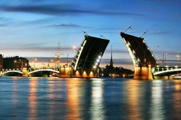 Биржевой мост разведут вночь навторник