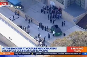 Один человек погиб врезультате стрельбы вштабе YouTube