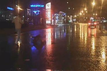 Женщина попала под машину вВыборгском районе