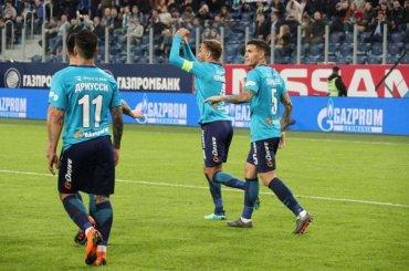 «Зенит» напоследних минутах вырвал победу у«Динамо»