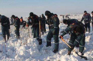 Родственникам пассажиров Ан-148 предложили хоронить останки погибших почастям