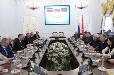 Курск иЛенобласть подписали соглашение осотрудничестве